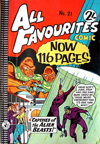 Cover for All Favourites Comic (K. G. Murray, 1960 series) #21