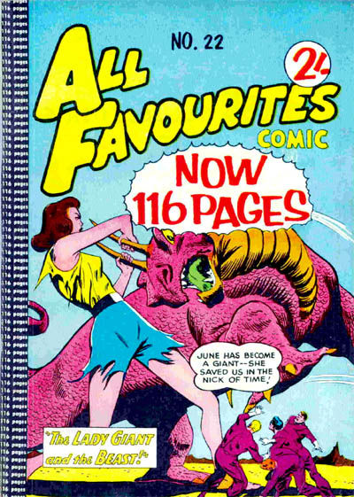 Cover for All Favourites Comic (K. G. Murray, 1960 series) #22