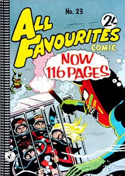 Cover for All Favourites Comic (K. G. Murray, 1960 series) #23
