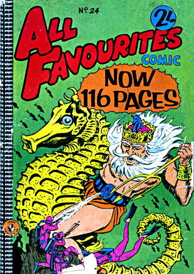Cover for All Favourites Comic (K. G. Murray, 1960 series) #24