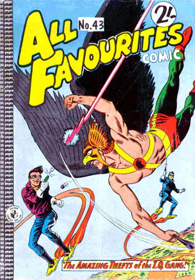 Cover for All Favourites Comic (K. G. Murray, 1960 series) #43