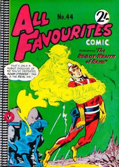 Cover for All Favourites Comic (K. G. Murray, 1960 series) #44