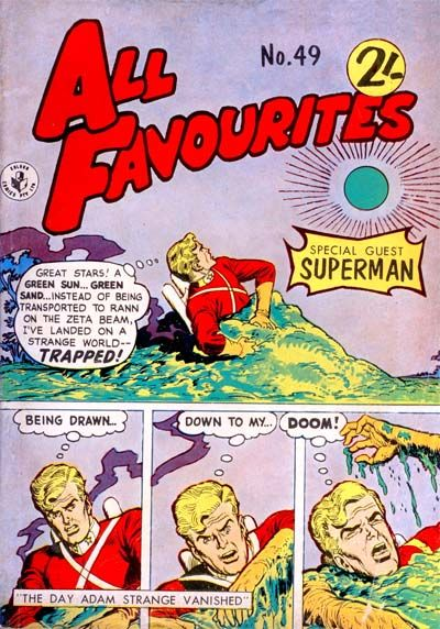 Cover for All Favourites Comic (K. G. Murray, 1960 series) #49