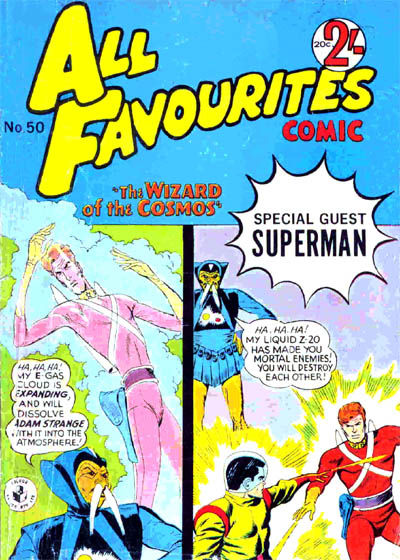 Cover for All Favourites Comic (K. G. Murray, 1960 series) #50