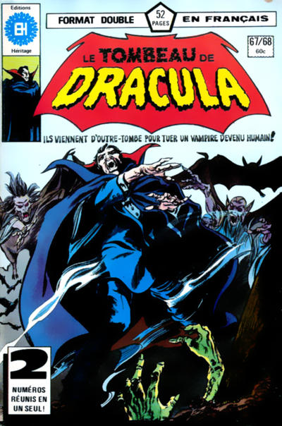 Cover for Le Tombeau de Dracula (1973 series) #67/68