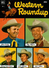 Cover for Western Roundup (Dell, 1952 series) #1