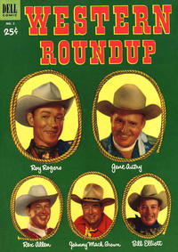 Cover Thumbnail for Western Roundup (Dell, 1952 series) #2