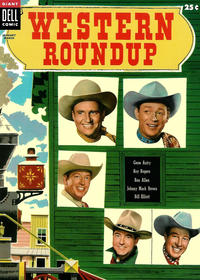 Cover Thumbnail for Western Roundup (Dell, 1952 series) #9