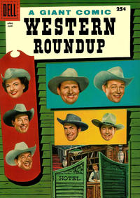 Cover for Western Roundup (Dell, 1952 series) #14