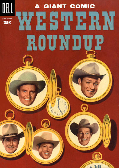 Cover for Western Roundup (1952 series) #10