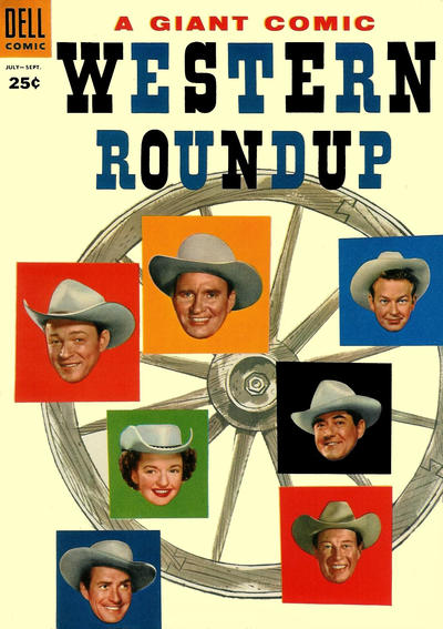 Cover for Western Roundup (1952 series) #11