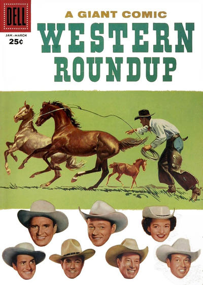 Cover for Western Roundup (1952 series) #17