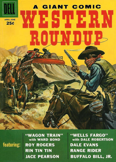 Cover for Western Roundup (1952 series) #22
