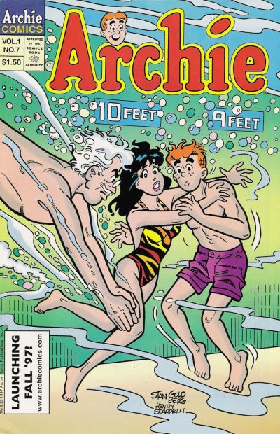 Cover for Archie's Ten Issue Collector's Set (Archie, 1997 series) #7