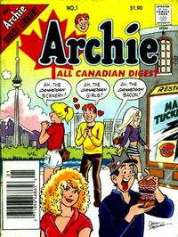 Cover Thumbnail for Archie All Canadian Digest (Archie, 1996 series) #1