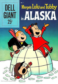 Cover Thumbnail for Marge's Lulu and Tubby in Alaska (Dell, 1959 series) #1