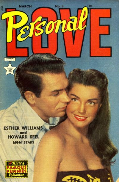 Cover for Personal Love (1950 series) #8