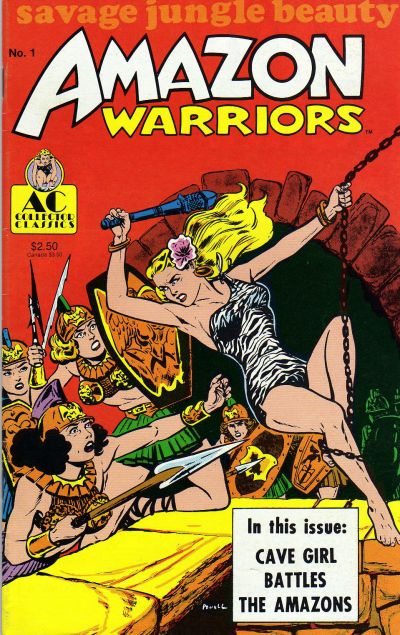 Cover for Amazon Warriors (1989 series) #1