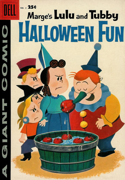 Cover for Marge's Lulu and Tubby Halloween Fun (Dell, 1957 series) #2