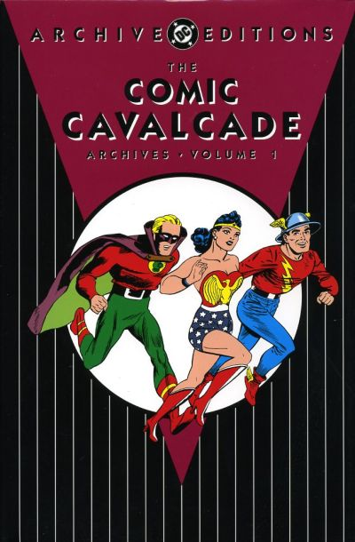 Cover for Comic Cavalcade Archives (DC, 2005 series) #1