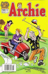 Cover Thumbnail for Archie (Archie, 1959 series) #569