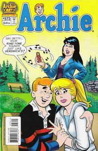 Cover Thumbnail for Archie (Archie, 1959 series) #573