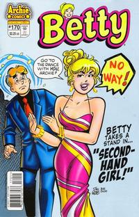 Cover Thumbnail for Betty (Archie, 1992 series) #170