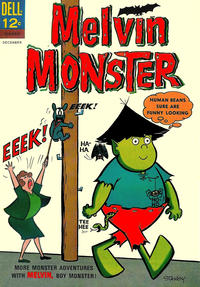 Cover Thumbnail for Melvin Monster (Dell, 1965 series) #3