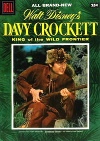 Cover Thumbnail for Walt Disney's Davy Crockett King of the Wild Frontier (Dell, 1955 series) #1