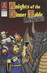 Cover Thumbnail for Knights of the Dinner Table Illustrated (Kenzer and Company, 2000 series) #5