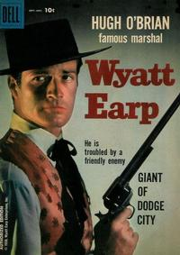 Cover Thumbnail for Hugh O&#39;Brian, Famous Marshal Wyatt Earp (Dell, 1958 series) #4