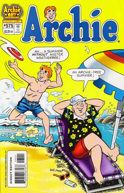 Cover for Archie (Archie, 1959 series) #575
