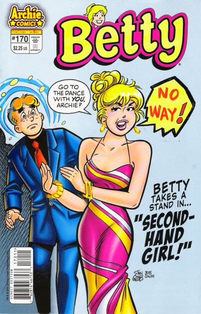 Cover for Betty (Archie, 1992 series) #170
