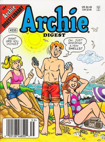 Cover for Archie Comics Digest (Archie, 1973 series) #235 [Direct]