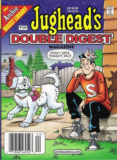 Cover for Jughead's Double Digest (Archie, 1989 series) #124