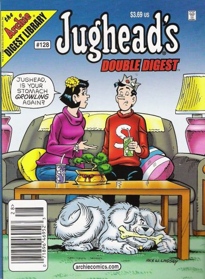 Cover for Jughead's Double Digest (Archie, 1989 series) #128