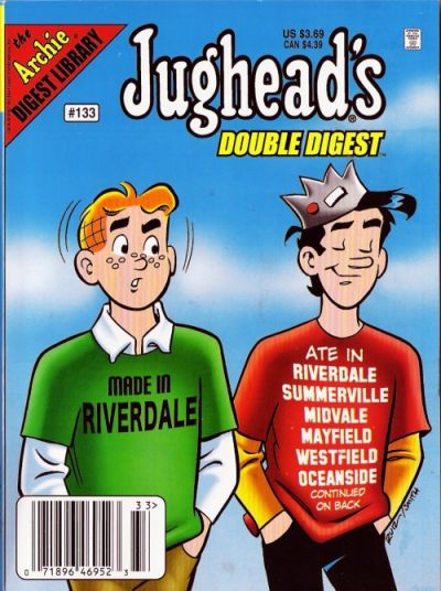 Cover for Jughead's Double Digest (Archie, 1989 series) #133