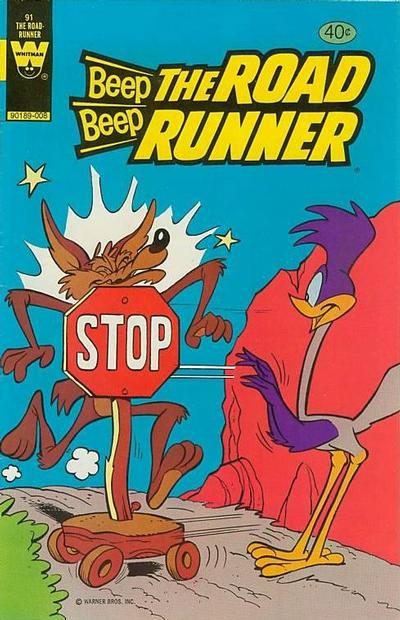 Cover for Beep Beep the Road Runner (Western, 1966 series) #91