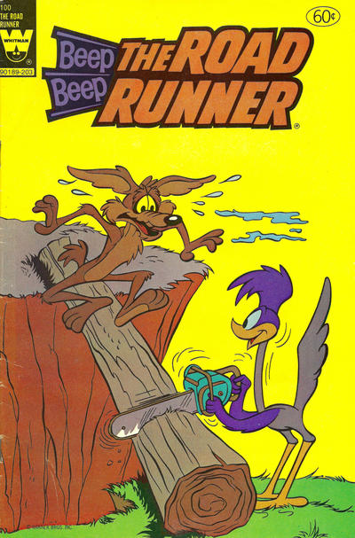 Cover for Beep Beep the Road Runner (Western, 1966 series) #100