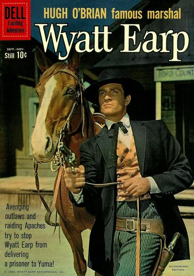 Cover for Hugh O'Brian, Famous Marshal Wyatt Earp (Dell, 1958 series) #12