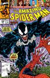 Cover for The Amazing Spider-Man (Marvel, 1963 series) #332 [Direct Edition]