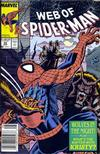 Cover Thumbnail for Web of Spider-Man (1985 series) #53 [Newsstand Edition]