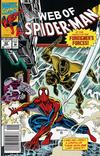 Cover Thumbnail for Web of Spider-Man (1985 series) #92 [Newsstand Edition]