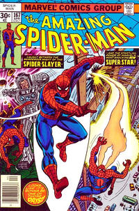 Cover Thumbnail for The Amazing Spider-Man (Marvel, 1963 series) #167 [Newsstand Edition]