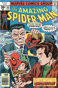 Cover Thumbnail for The Amazing Spider-Man (Marvel, 1963 series) #169 [30¢ cover price]