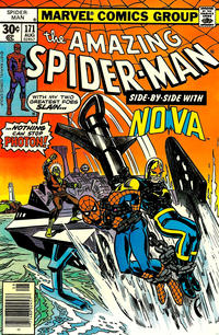 Cover Thumbnail for The Amazing Spider-Man (Marvel, 1963 series) #171 [30¢ cover price]