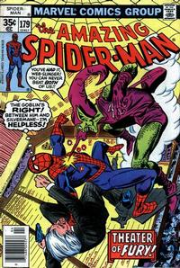 Cover Thumbnail for The Amazing Spider-Man (Marvel, 1963 series) #179