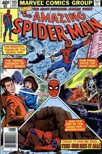 Cover Thumbnail for The Amazing Spider-Man (Marvel, 1963 series) #195 [Newsstand Edition]