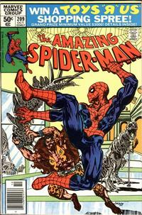 Cover Thumbnail for The Amazing Spider-Man (Marvel, 1963 series) #209 [Newsstand Edition]