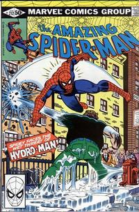 Cover Thumbnail for The Amazing Spider-Man (Marvel, 1963 series) #212 [Direct Edition]